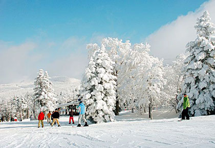 金鼎湖滑雪场