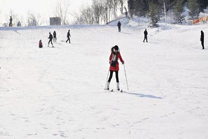 天津南翠屏滑雪场