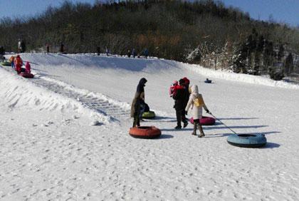南翠屏山滑雪场