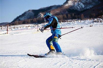 双鸭山龙头山滑雪场