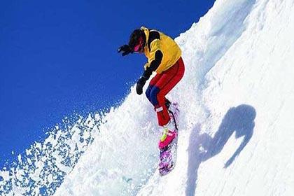 旭东蓝天滑雪场