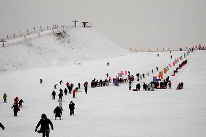 明月岛滑雪场