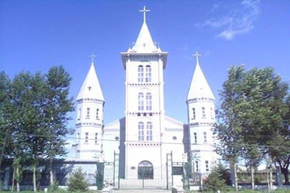 海北镇天主教堂