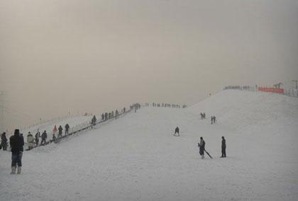 石家庄南高基滑雪场