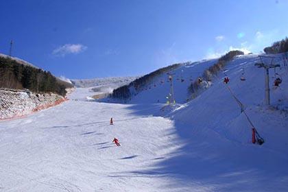 崇礼万龙滑雪场