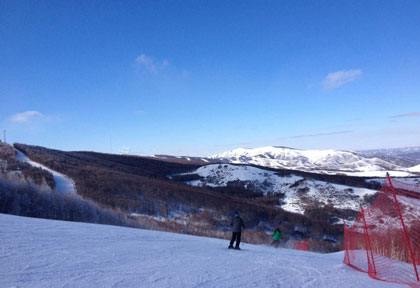 塞北多乐美地滑雪场