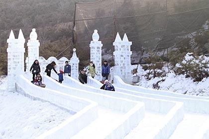 太原曦岭滑雪场