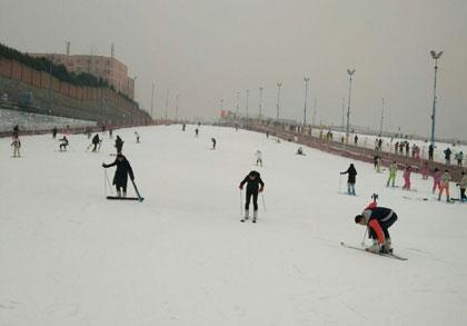 白鹿原滑雪场