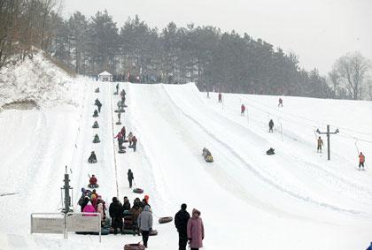 伏羲岭滑雪场