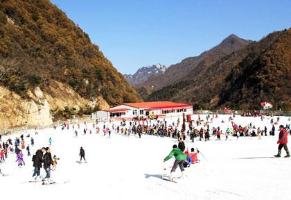 沣峪高山滑雪场