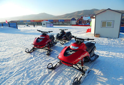金帝顺滑雪场