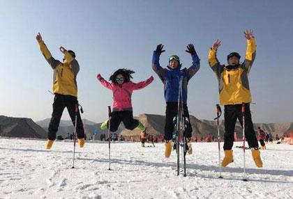 龙山国际滑雪场