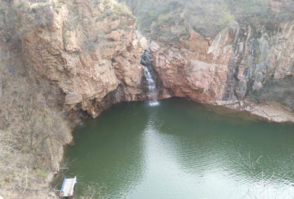 伏羲山大峡谷
