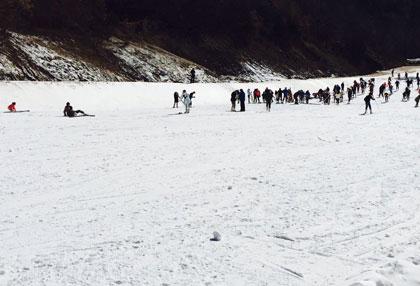 南召猿人山滑雪场