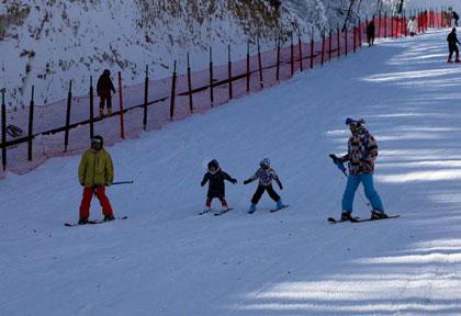 洛阳白云山滑雪场