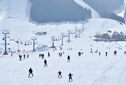 高阳山温泉滑雪场