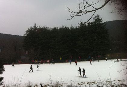 泉山森林公园滑雪场