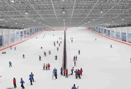 浙江乔波室内滑雪馆